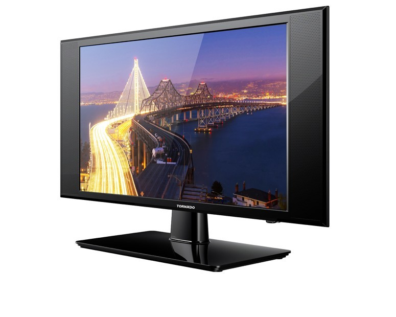 Tornado LED TV 24 Inch HD with 2 HDMI & 1 USB Inputs 24ED136