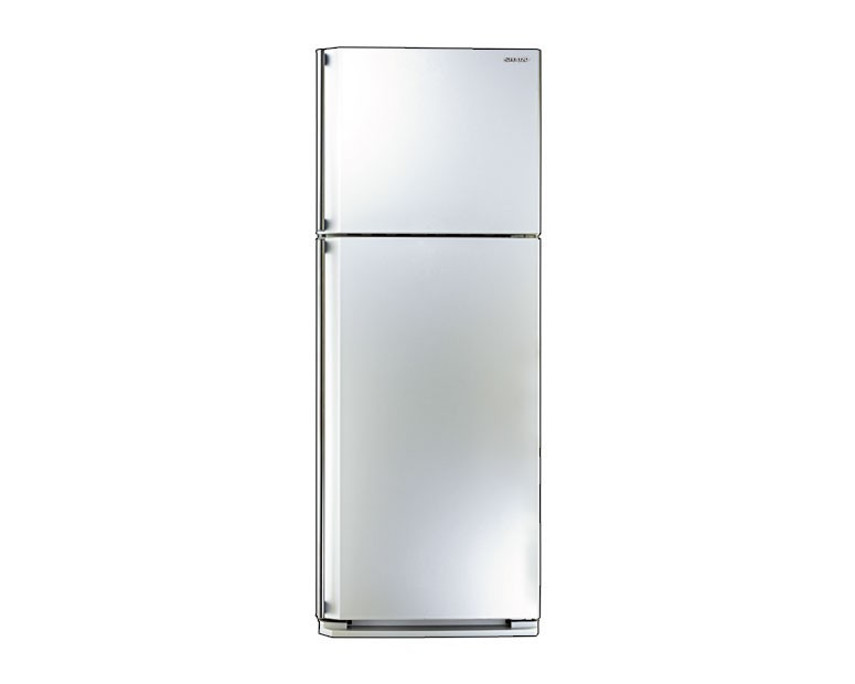 Sharp Refrigerator 2 Door White No Frost 340L SJ-48C-W