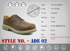 Safety Shoes Office Models ADE-02