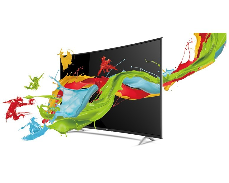 TCL Curved LED Smart TV With Android 48 Inch Full HD & 2 USB