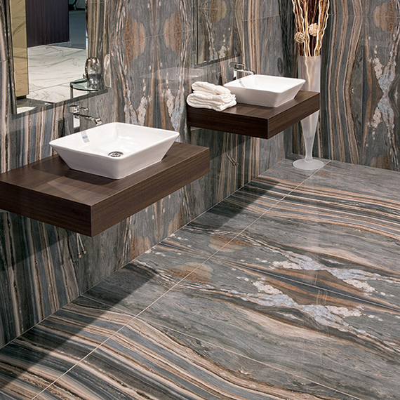 CERAMIC COLOR, MARBLE EFFECT   60x120 PALISSANDRO