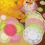 Doilies and Cups