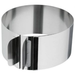 KAISER BAKE- AND CAKE SETTING RING STAINLESS STEEL
