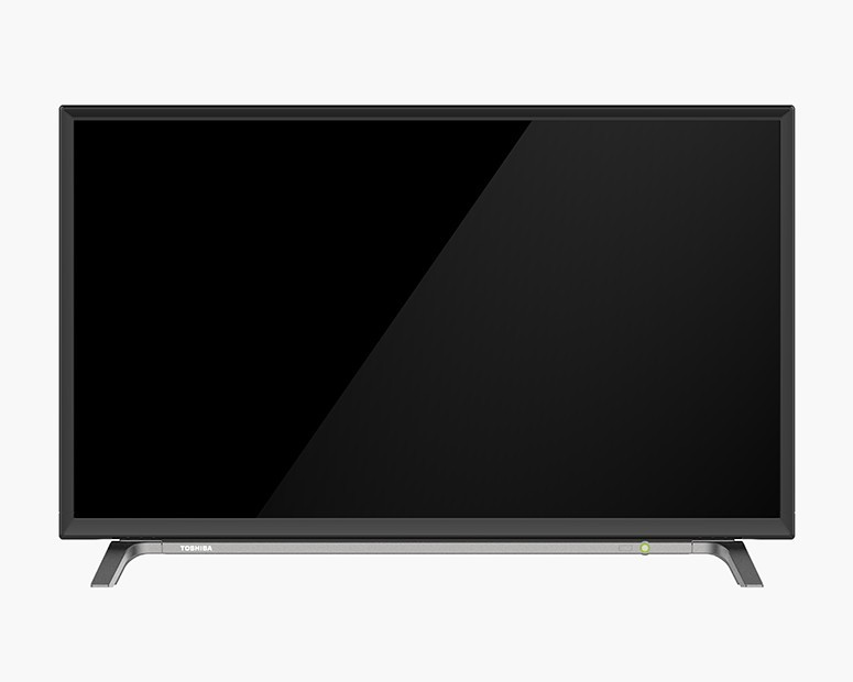 Toshiba LED TV 32 Inch HD with 1 USB Movie and 2 HDMI Inputs