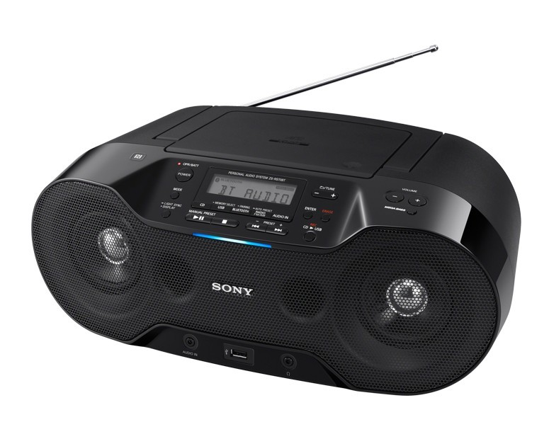 Sony CD Player Radio Bluetooth USB Black ZS-RS70BT Sony CD
