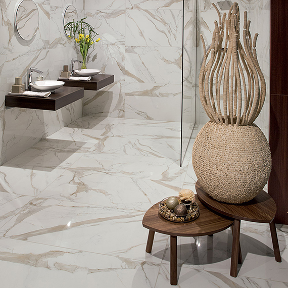 CERAMIC COLOR, MARBLE EFFECT   60x120 STATUARIO