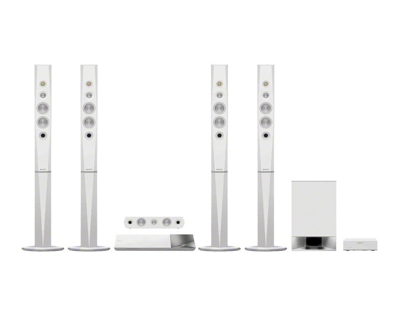 Sony Home Theater 3D Blu-ray Disc White BDV-N9200WL
