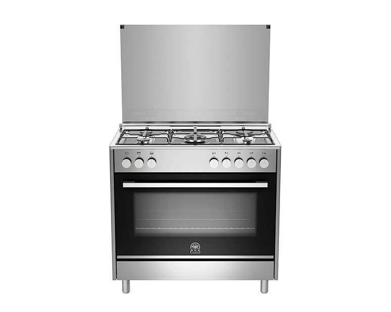 La Germania Cooker 5 Gas Burners 90X60 Stainless with Oven