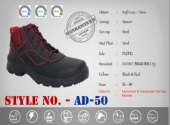 Safety Shoes Half Boot Models AD-50