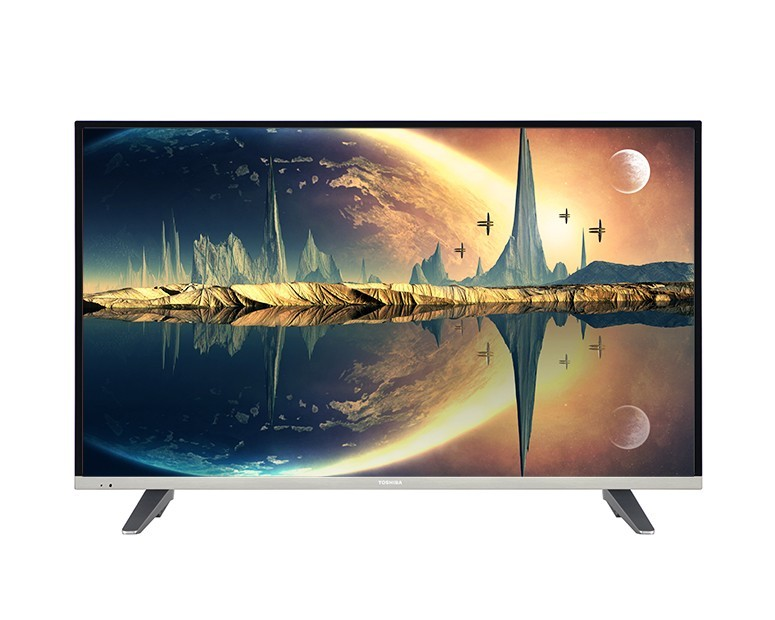 Toshiba LED TV 43 Inch Full HD with Built-in Receiver and 2