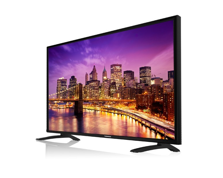 Tornado LED TV 55 Inch Full HD With 2 USB and 3 HDMI 55ED446