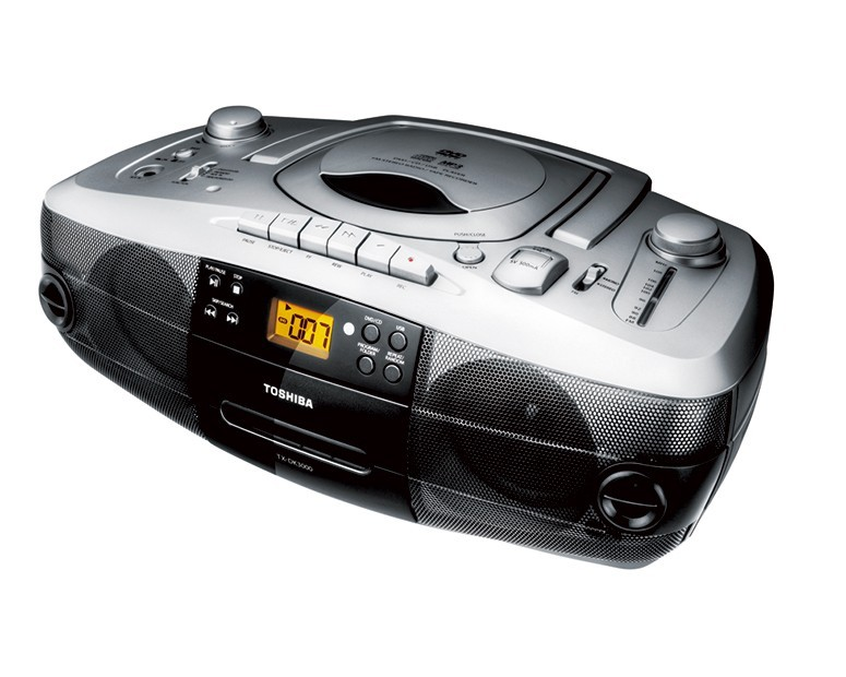 Toshiba Cassette CD Player Radio & USB with Remote Control