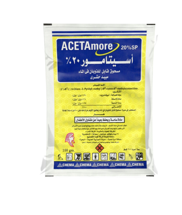 Insecticide Acetamiprid 20% SP
