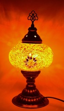 Turkish Table Lamp, Mosaic Lamps, Bedside Lighting, Bedroom